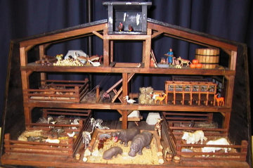 biblepic picture of inside of noah ark.