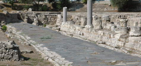 The Hidden History Of The Human Race Roman-road-in-tarsus-birthplace-of-apostle-paul