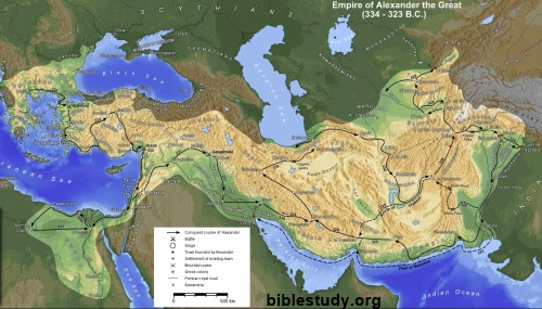 Alexander The Great Empire Map Alexander the Great Empire Map Alexander The Great Empire Map