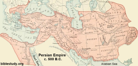 Map Of Persian Empire Persian Empire Map