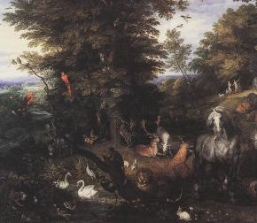 Adão e Eva no Jardim do Éden