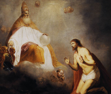 Who sits at God's left hand?