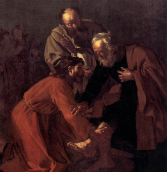 Meaning of Mary washing the feet of Jesus