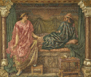 an analysis of ahabs death Jezebel, identified in the old testament as the wife of king ahab,  in the  centuries since her death, she has acquired numerous references in.