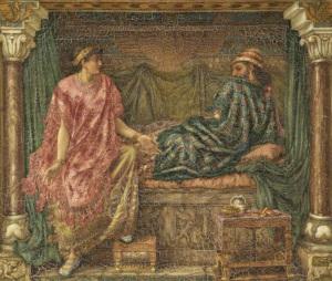 Jezebel e Ahab como amantes