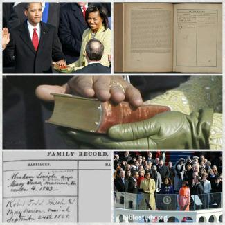 Fazendo um juramento na Bíblia