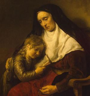 Timothy e sua avó Lois